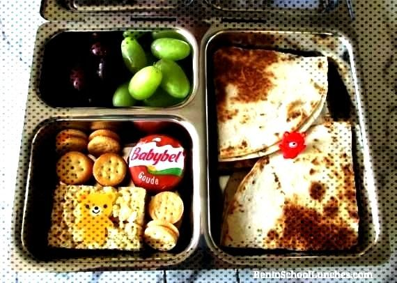 Lunches with An Easy Kid Friendly Recipe ,  Quesadilla Lunches with An Eas...Quesadilla Lunches wit
