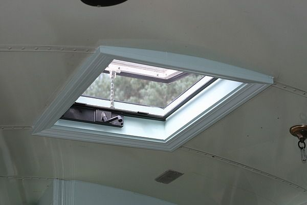 Replacing The Emergency Roof Hatch With A Skylight School Bus Rv Conversion School Bus Rv Bus Rv Conversion