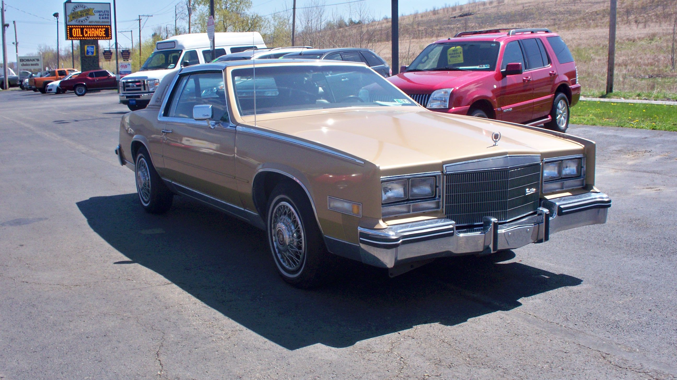85 Cadillac El Dorado Mine was Midnight blue I had a serious love