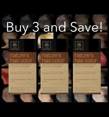 3 Boxes Of APIVITA Natures Hair Color  1e97fa4c30b