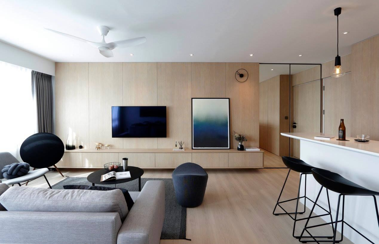 11 Seriously Stylish Singapore Homes With A White Black And
