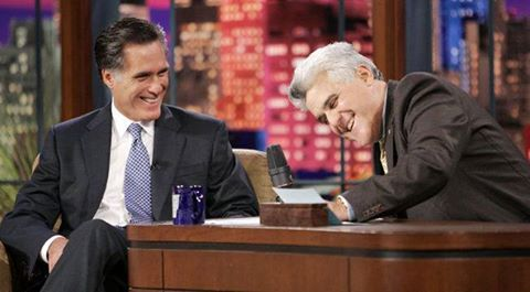 Mitt Romney Central's photo: ★ REMINDER: Tonight's the night!   Romney will be on 'The Tonight Show with Jay Leno!   Can't wait to see The Gov again. Leno is sure to ask him about Obama's scads of scandals, and more.