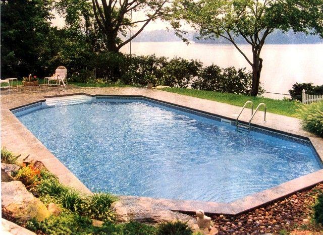 Grecian Inground Pool Swimming Pools Backyard Inground Pool Designs Radiant Pools