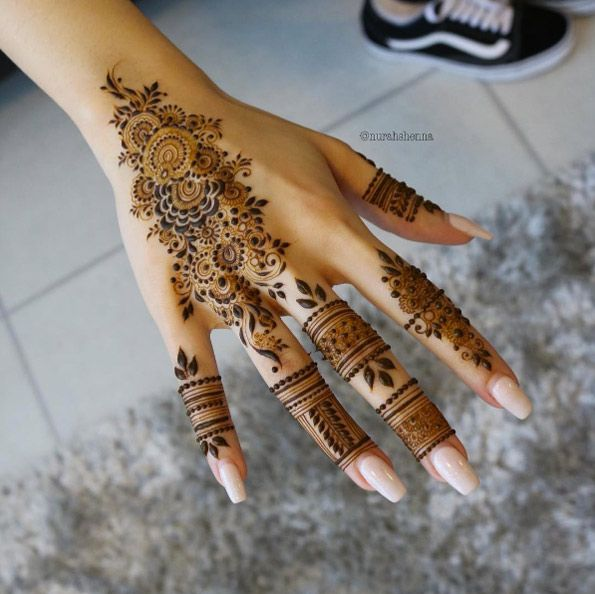 40 Gorgeous Henna Ideas From Intricate To Elaborate Henna