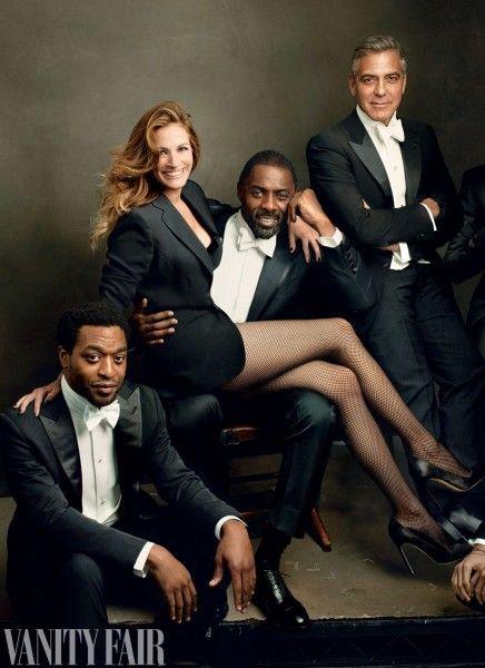Lupita Nyong'o! Chiwetel Ejiofor! Idris Elba! Geor
