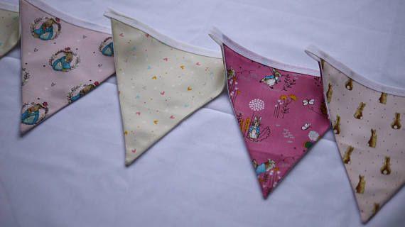 Pin on Handmade Fabric Bunting