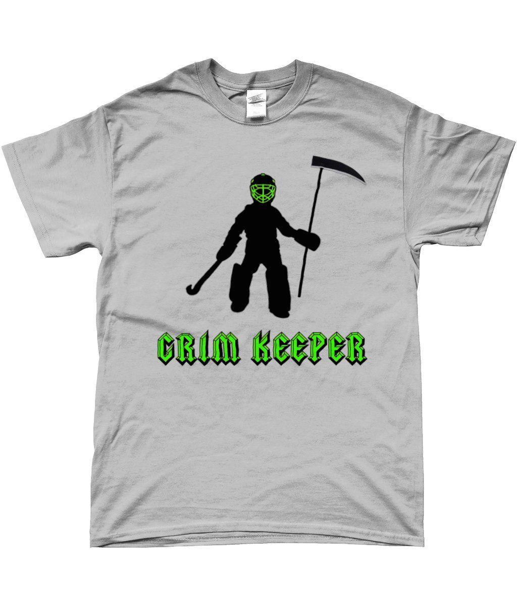 Field Hockey Goalkeeper T Shirt Grim Keeper Funny Hockey
