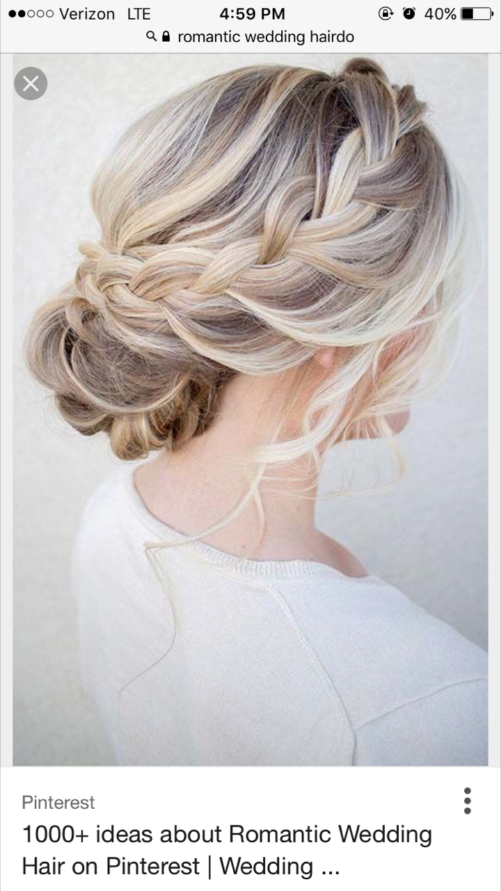 Pin by Caroline Pougnier on Wedding hair | Pinterest