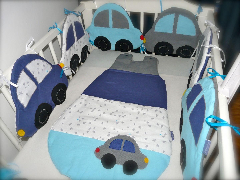 tour de lit bébé voiture Tour de lit Petites Voitures | Creative tour de lit bébé voiture