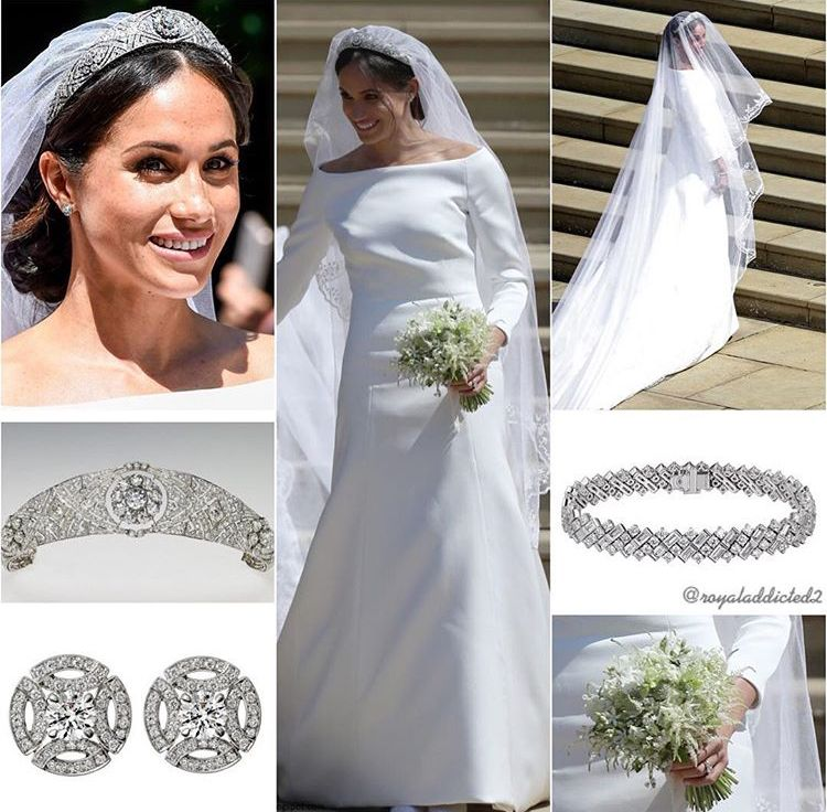 British Royal Wedding Gowns: The Duchess Of Sussex...the Dress, Her Jewelry And The