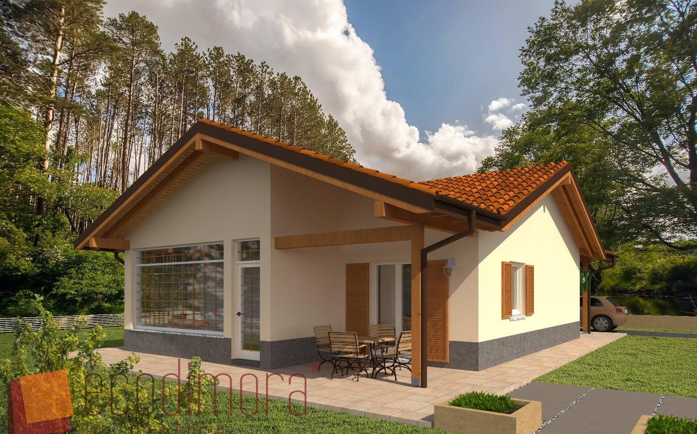 Interni Case Prefabbricate In Legno casa prefabbricata in legno easy 96 | case prefabbricate