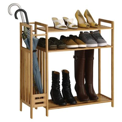 You\u0027ll love the Utility Entryway 3-Tier Shoe Rack at Wayfair - Great