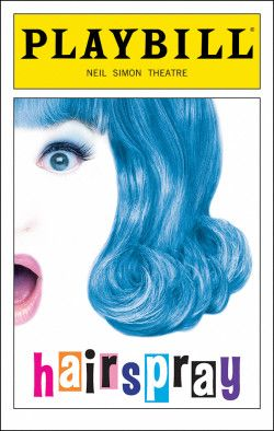 Hairspray Playbill Opening Night July 2002 Broadway Musicals Posters Playbill Broadway
