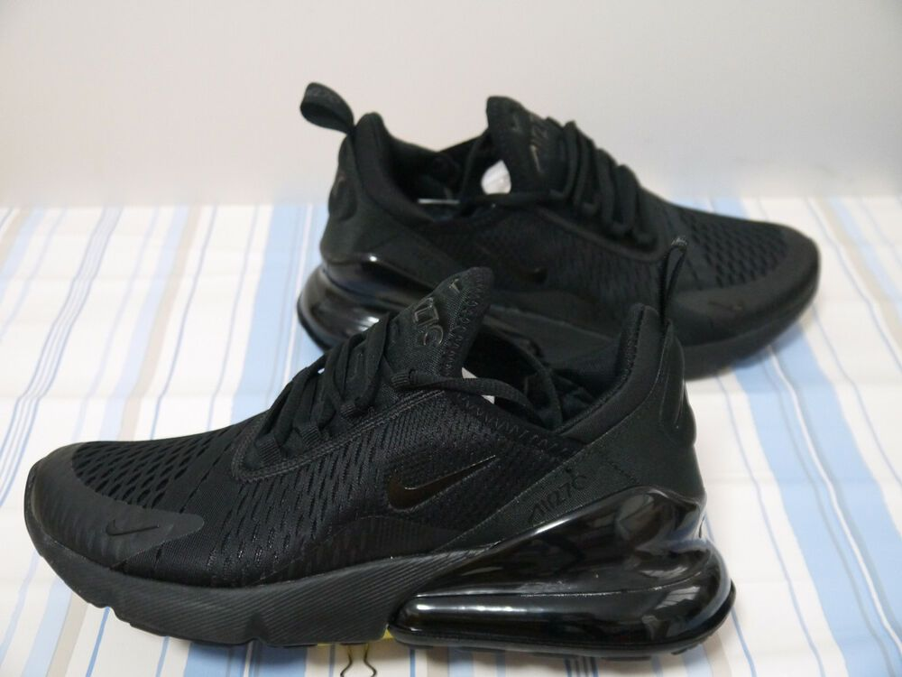 f773a7bf5a1d Unworn Size 10 Nike Air Max 270 Triple Black Running Shoes - AH8050-005   fashion  clothing  shoes  accessories  mensshoes  athleticshoes (ebay link)