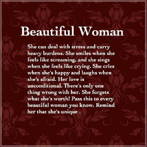 To All My Beautiful Women Friends You Are Unique You Are Special You Are Awesome Beyond Words Here S Pretty Words Feel Like Crying Inspirational Quotes