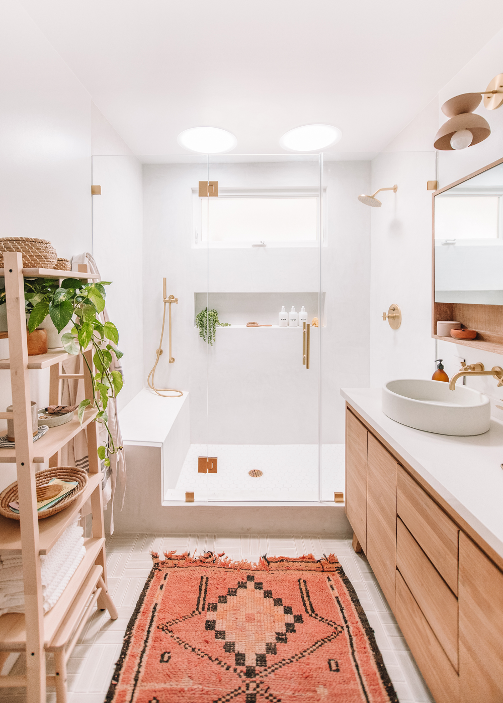Photo of our master bathroom : the reveal – almost makes perfect