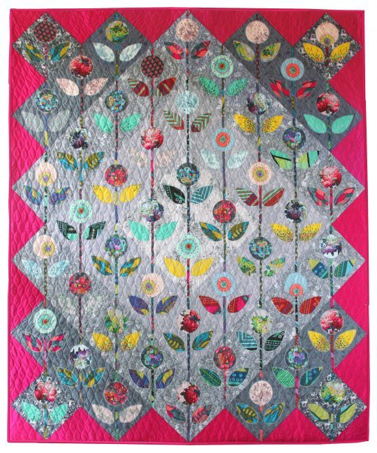 Folk Flower Quilt by Anna Maria Horner | APPLIQUE | Pinterest ...