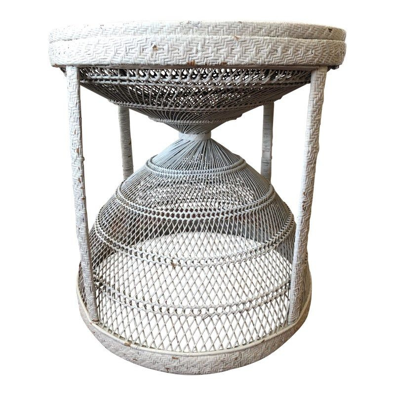 sweet white wicker round table white wicker shabby chic kitchen table shabby chic kitchen on boho chic kitchen table id=56017
