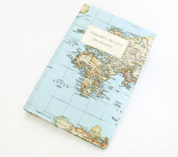 Personalised world map print travel photo album honeymoon album personalised world map print travel photo album honeymoon album travel gift gumiabroncs Choice Image