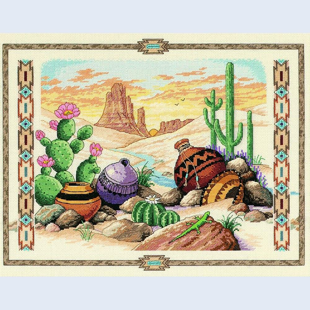 Charm of the Southwest - Dimensions counted cross stitch kit