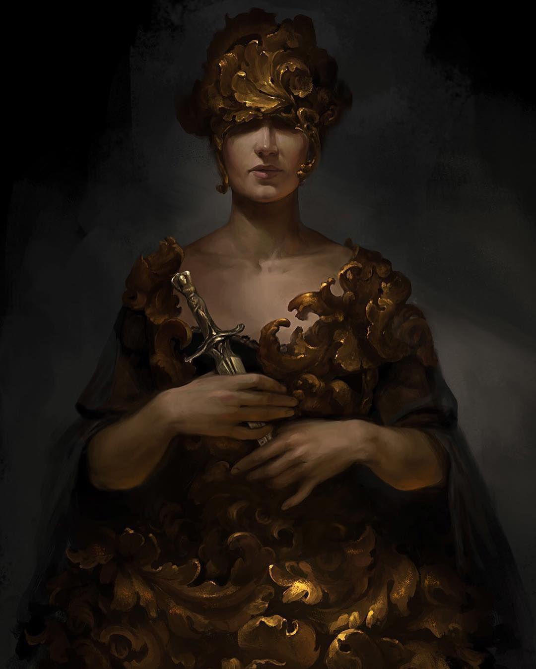 Baroque Art By Anna Lakisova Painting Drawing Fantasy
