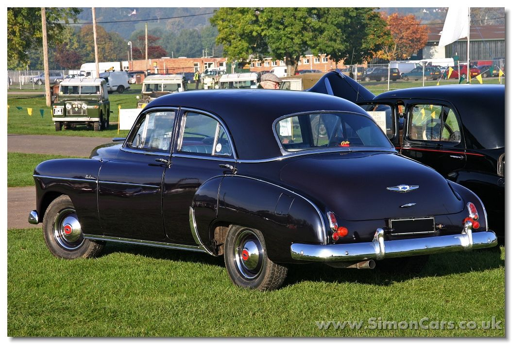 Chevrolet styleline deluxe 1949 4 door saloon rear for 1950 chevy styleline deluxe 4 door sedan