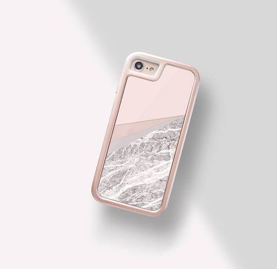 Sand IPhone 8 Plus Case Marble Beige Gold 7