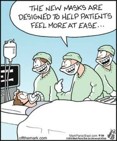 The Friendly Face Of Surgery Laughter The Best Medicine Nurse