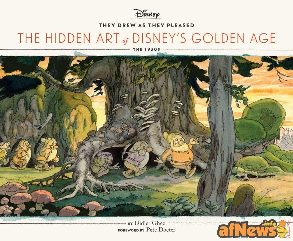 Disegnavano come pareva loro - l'arte nascosta dell'epoca d'oro Disney - http://www.afnews.info/wordpress/2015/09/28/disegnavano-come-pareva-loro-larte-nascosta-dellepoca-doro-disney/