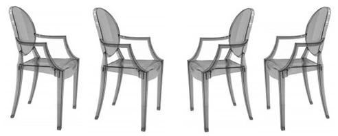 Philippe Starck Ghost Chair Lineup Acrylic Dining Chairs Acrylic Chair Chair