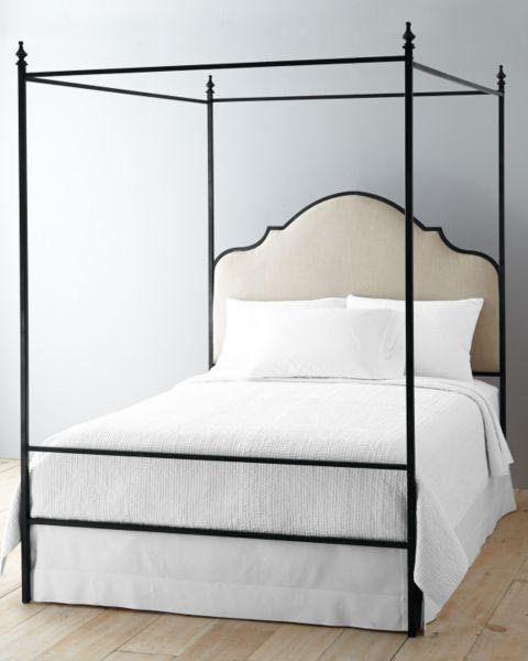 LaSalle Iron Bed, Garnet Hill, $1500