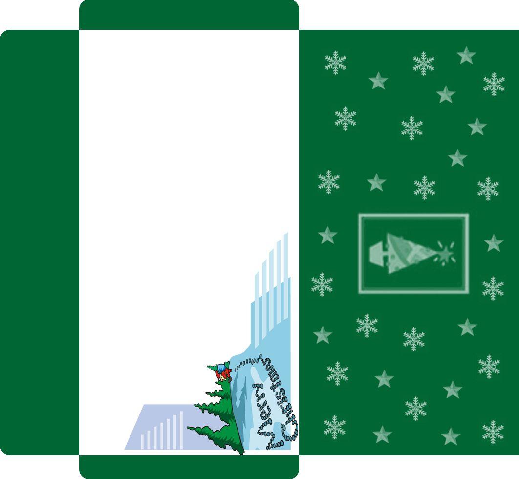Customize Your Free Printable Christmas Money Card Envelope