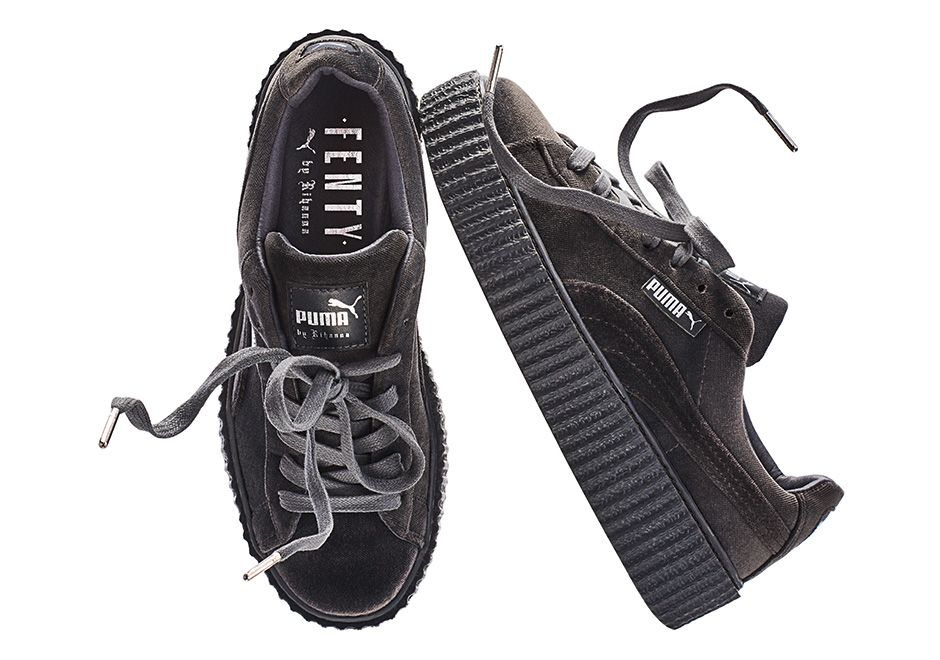 4c65e0430e1077 The Rihanna Puma Creeper is back in 4 new Velvet colorways slated to  release on December 8th for  150 USD each. More detailed release date info  here