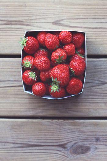 Labios de fresas