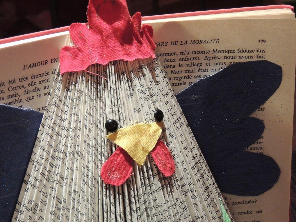 poule easter paper crafts easter book folding et diy. Black Bedroom Furniture Sets. Home Design Ideas