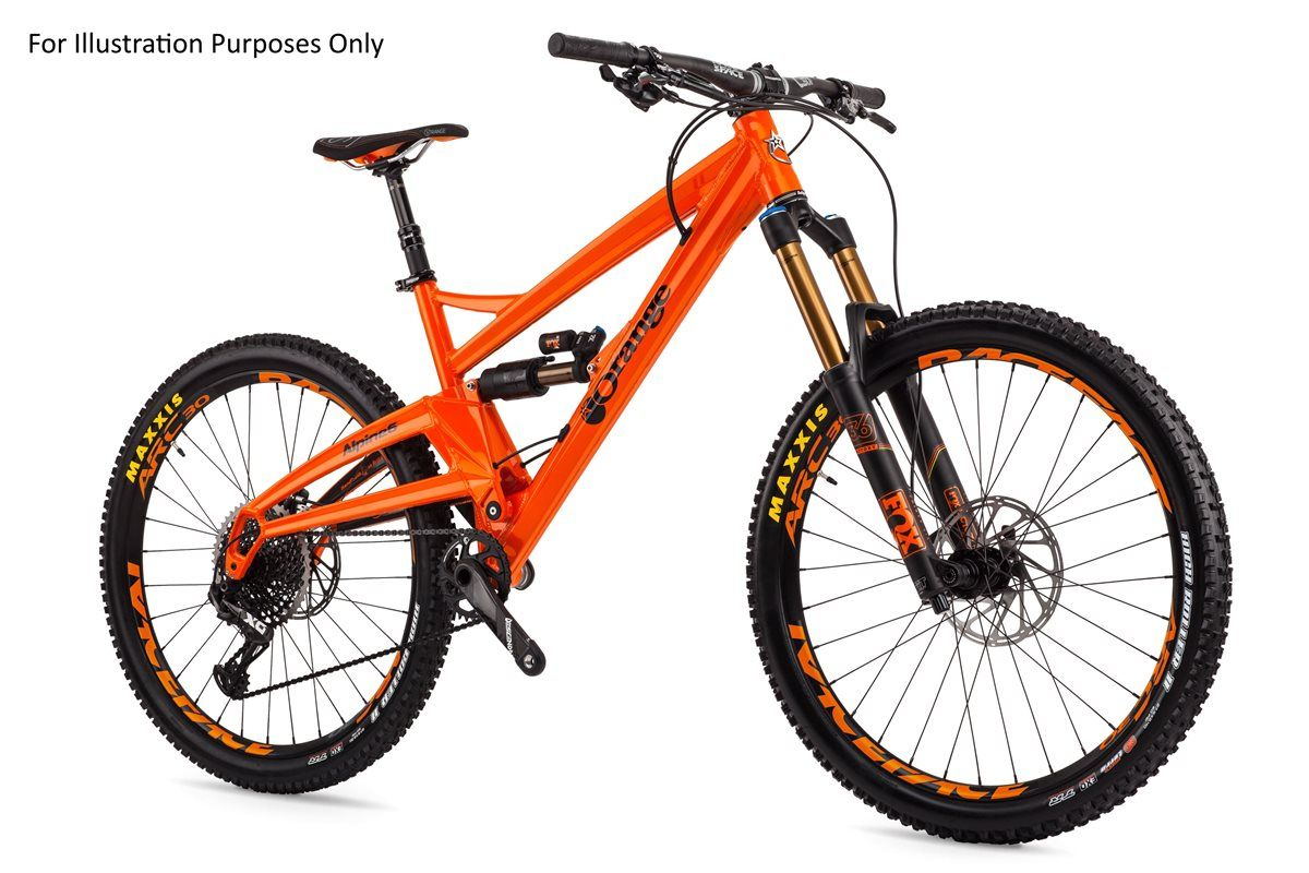"Orange Alpine 6 Factory 27.5"" 2017 Mountain Bike from Wheelies"