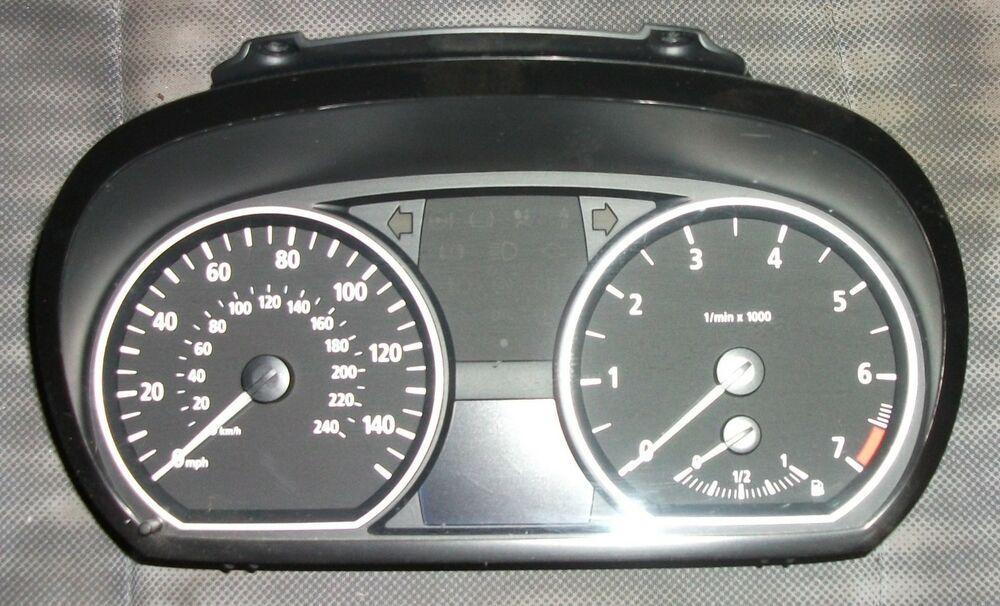 BMW 1 Series 116-118i e81 e82 e87 e88 N45 N46 Instrument