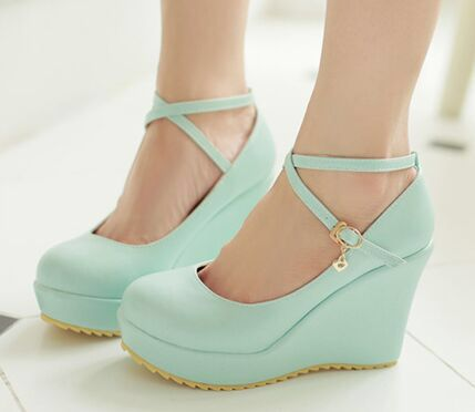 90fbbce942a Cute shoes | Girly Stuff in 2019 | Womens shoes wedges, Cute wedges ...