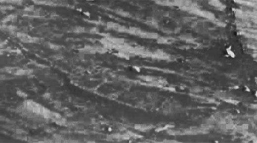 Imagen de la NASA revela una estructura con forma de barco en la superficie de Marte