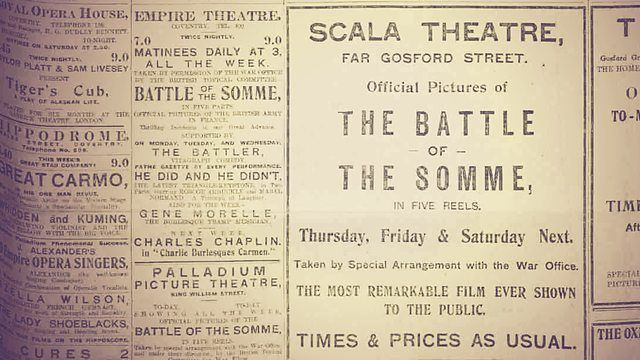 why was the battle of the somme film bigger than star wars