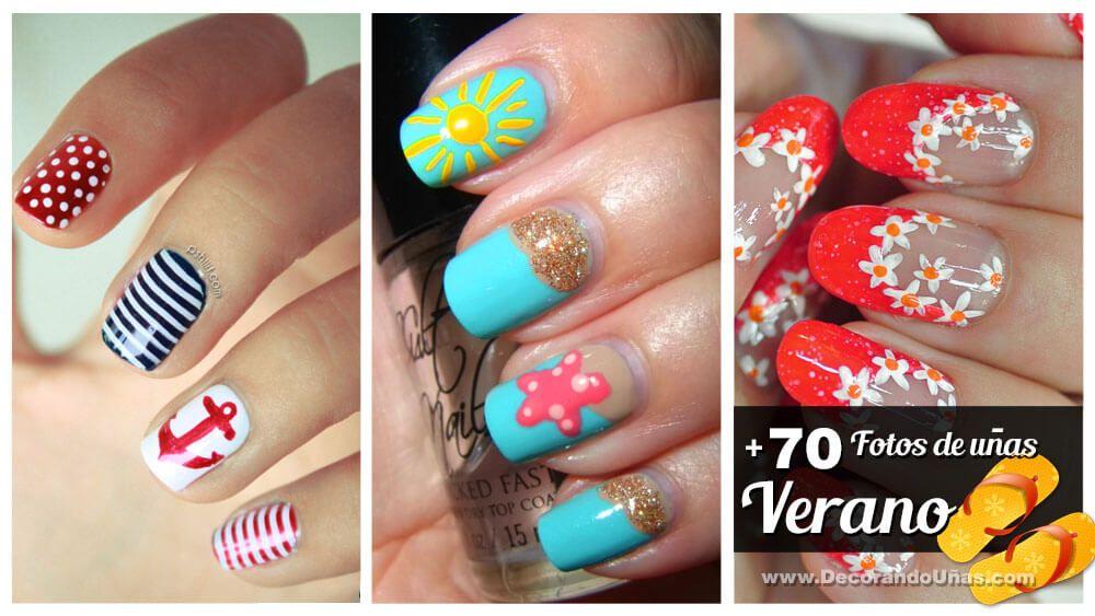 70 Fotos de uñas decoradas para el verano – Summer Nail Art ...