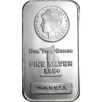 Morgan Design 1 Oz Silver Bars At Texasbullion If You Have Questions