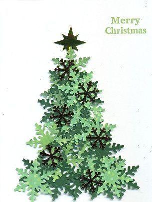 Pin By Debra Johnson On Diy Carft Ideas Diy Christmas Cards Christmas Cards Handmade Paper Christmas Tree