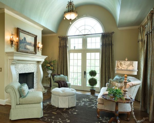 Arch In Living Room Interiors