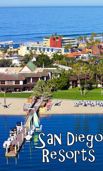 San Diego California Vacation Resorts. Family, Spa, And