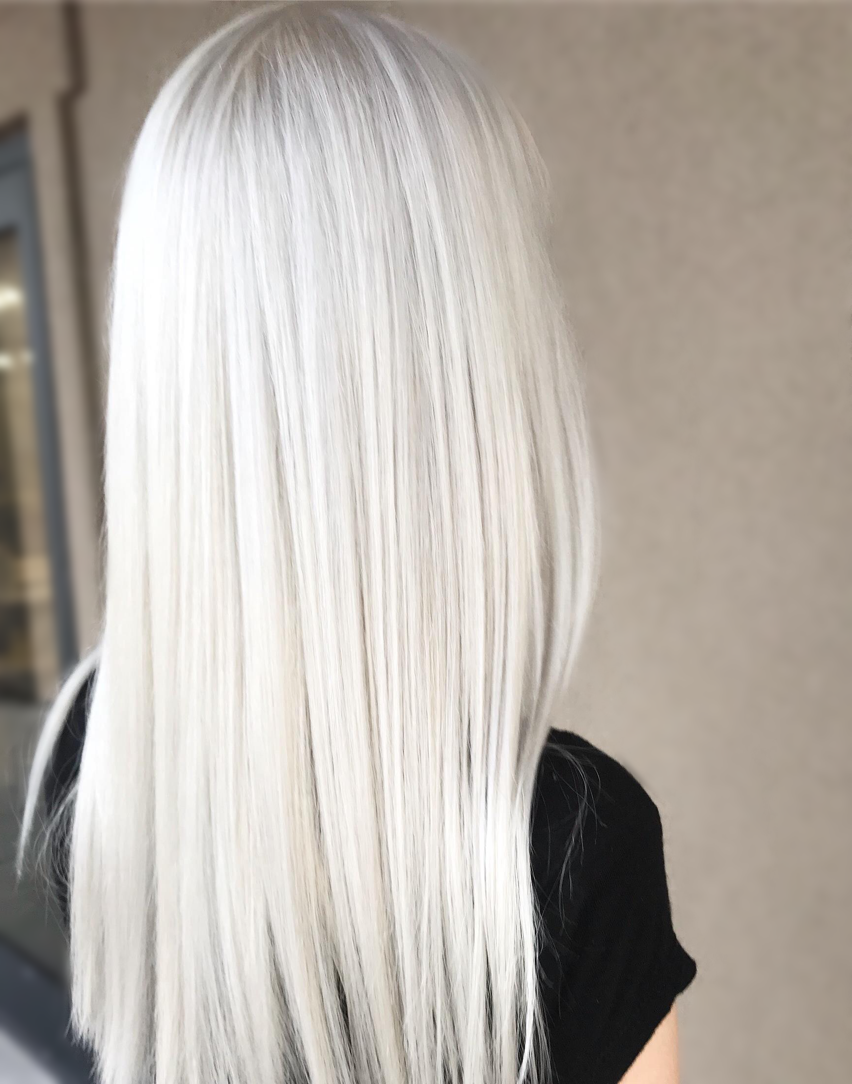 Color Correction Double Process Platinum Card Double Process Retouch Book As Color Correction White Hair Color Icy Blonde Hair Color Grey Platinum Hair