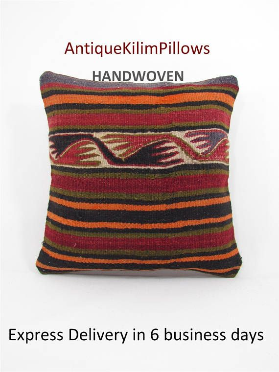 kilim pillow case kilim pillow cover couch pillow cover couch