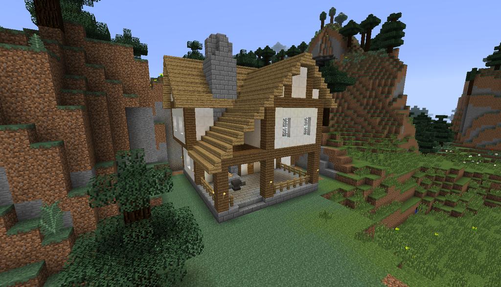 A Tudor Style Blacksmith Tudor Style Minecraft Medieval House Styles