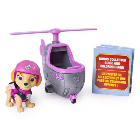 Paw Patrol Ultimate Rescue Skyes Mini Helicopter With Collectible