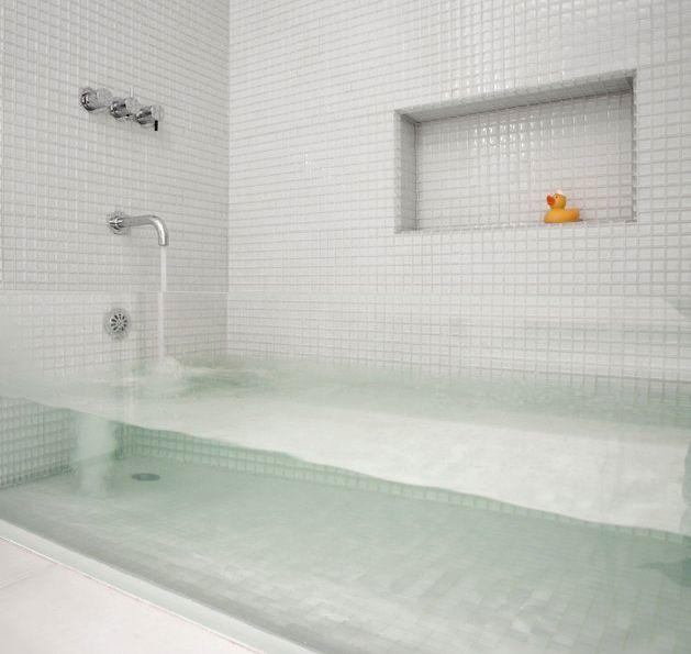 glass bath